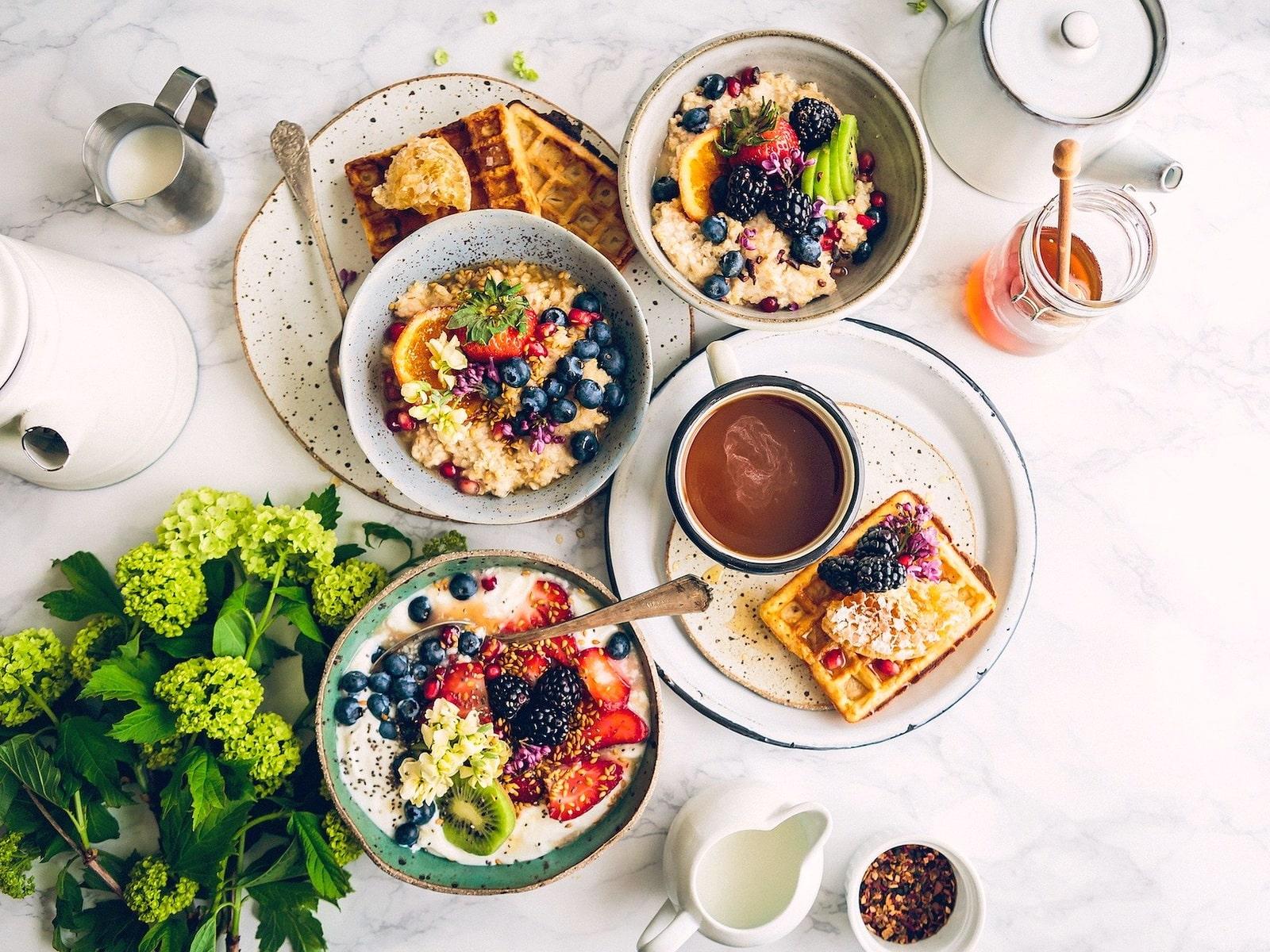 Что есть на завтрак или 4 шага по приготовлению полезного утреннего меню