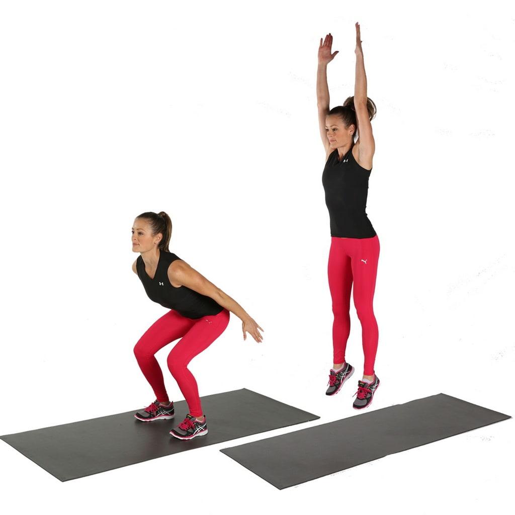 Круговая тренировка - кардио прыжки