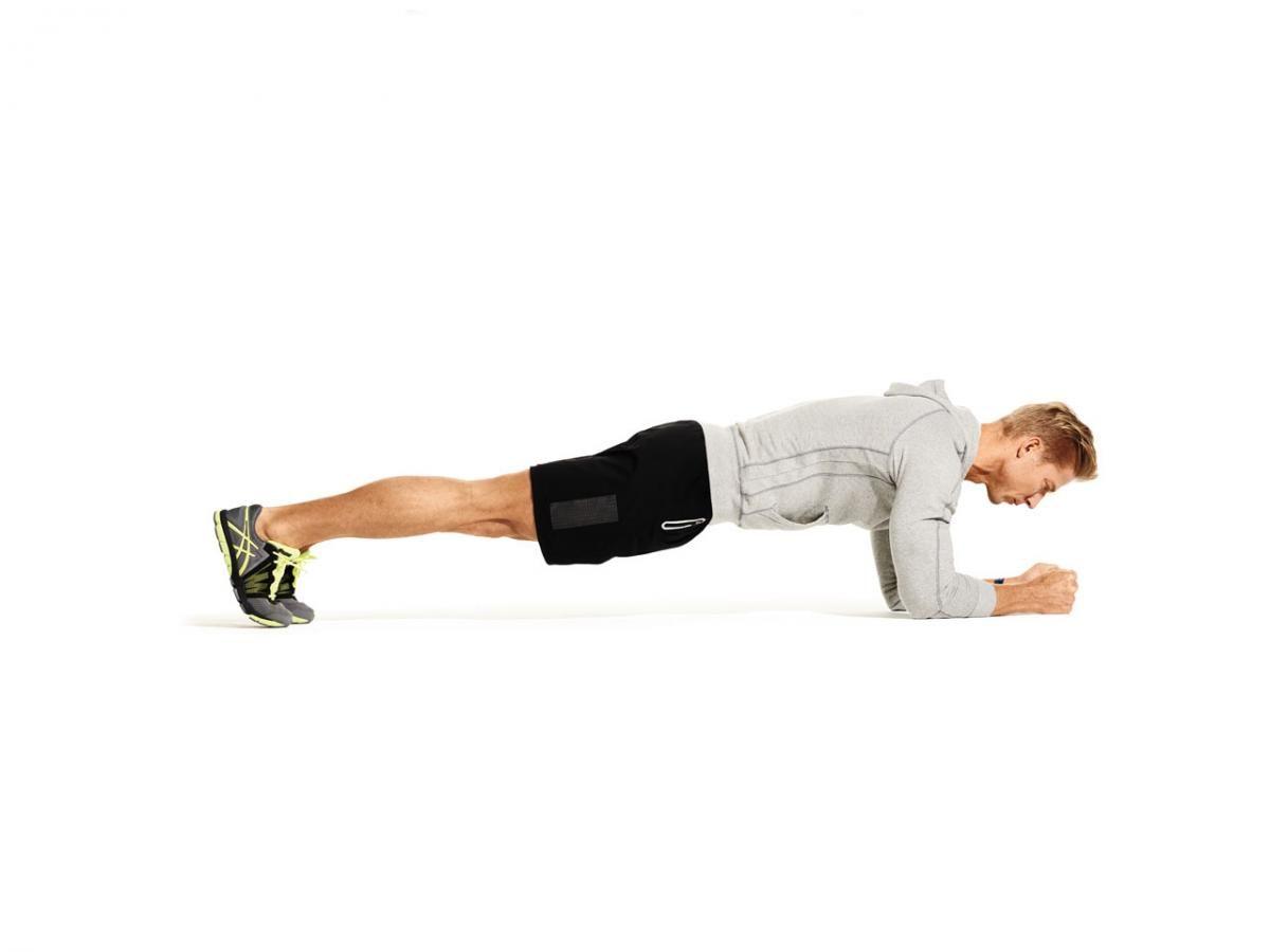 упражнения для плеч отжимание на локтях